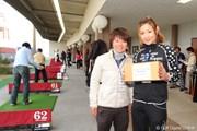 2011年 東日本大震災チャリティゴルフレッスン会 辻村明須香&永田あおい