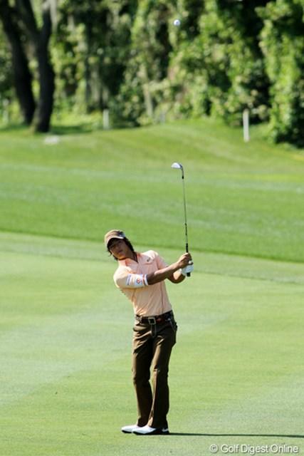 今季の米国ツアーでの練習日は数十ヤードからのショット練習が目立つ石川遼