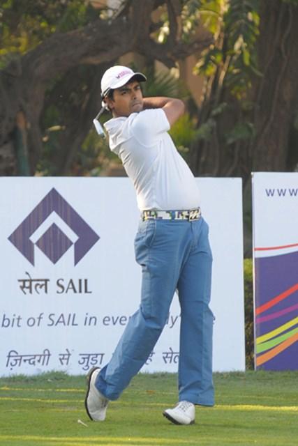 初日首位に立ったのは、地元インドのアニルバン・ラヒリ(提供:アジアンツアー)