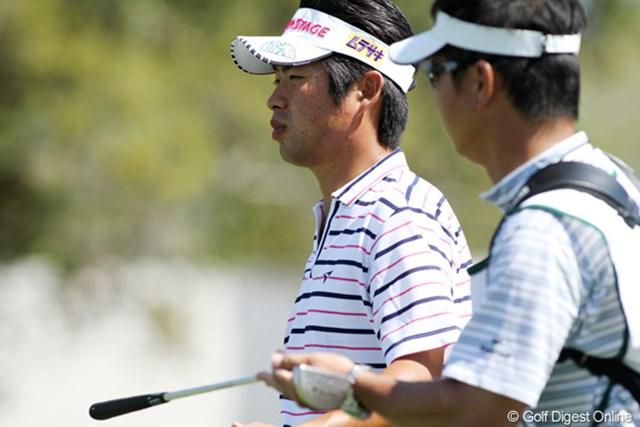 2011年 アーノルド・パーマーインビテーショナル 初日 池田勇太 まさかの最下位スタートとなった池田勇太。マスターズに向け、なんとか挽回を期待したい