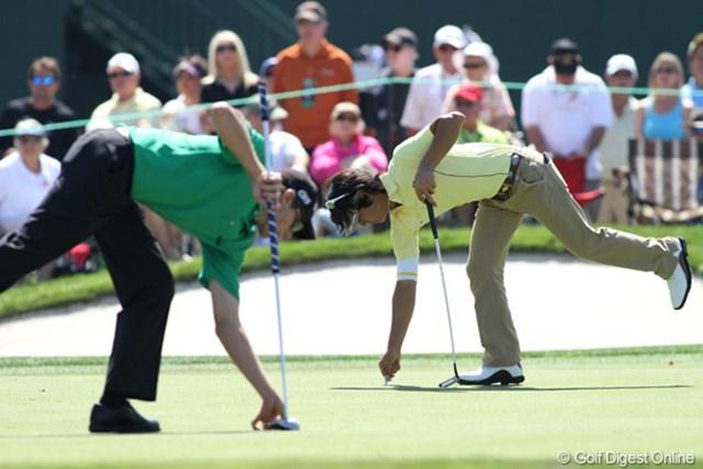 2011年 アーノルド・パーマーインビテーショナル 2日目  「シンメトリー」ゴルフはリズムとバランスが大切!