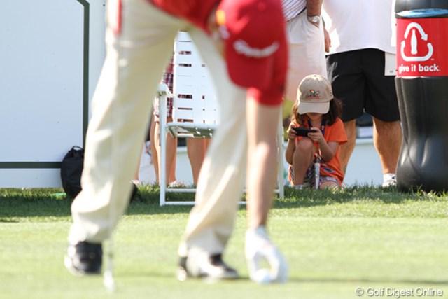 2011年 アーノルド・パーマーインビテーショナル 2日目 ギャラリー ゴルフを、見てよ~っ