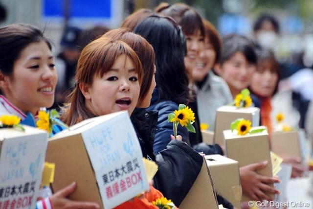 2011年 ホットニュース 川原唯維 自宅が被災し、今も有村智恵の実家に身を寄せている川原唯維は熊本から駆けつけた。