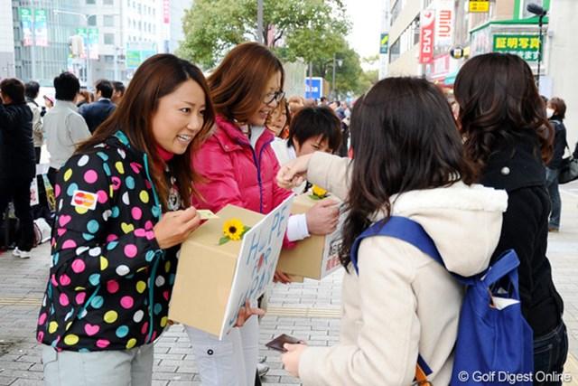 2011年 ホットニュース 原江里菜 この活動で、小さなことの積み重ねを知り、自分の考えが変わったという原江里菜