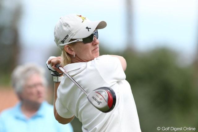 カリー・ウェブ 2011年クラフトナビスコチャンピオンシップ ナビスコ選手権の覇者で、今年は2週前に優勝。優勝候補から外せない1人