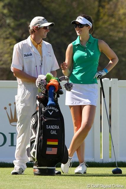 サンドラ・ガル 2011年クラフトナビスコチャンピオンシップ 先週勝利を挙げたS.ガル。今週も注目選手の1人だ
