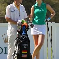 先週勝利を挙げたS.ガル。今週も注目選手の1人だ サンドラ・ガル 2011年クラフトナビスコチャンピオンシップ