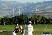 2011年 クラフトナビスコチャンピオンシップ 初日 発電用風車