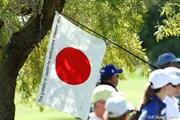 2011年 クラフトナビスコチャンピオンシップ 2日目 日の丸
