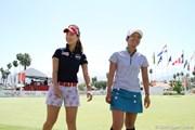 2011年 クラフトナビスコチャンピオンシップ 最終日 宮里藍&上田桃子