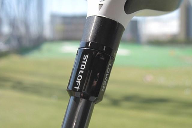 新製品レポート テーラーメイド R11 フェアウェイウッド NO.4 好みに合わせてロフト調整ができるFCT(フライト・コントロール・テクノロジー)