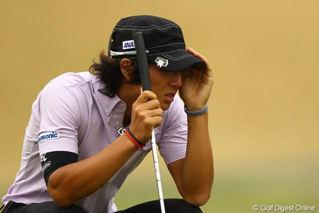 2011年 東建ホームメイトカップ 2日目 石川遼 前半耐えるゴルフをした石川が後半3バーディで10位タイに浮上