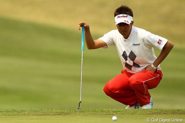 実家が被災した星野英正。今まで以上にゴルフに集中し単独4位に浮上