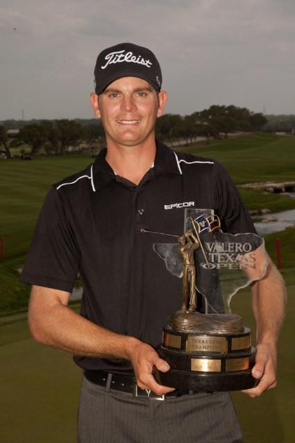 2011年 バレロテキサスオープン 最終日 ブレンダン・スティール 28歳のルーキー、B.スティールがツアー初勝利を手に!(Darren Carroll/Getty Images)