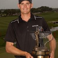 28歳のルーキー、B.スティールがツアー初勝利を手に!(Darren Carroll/Getty Images) 2011年 バレロテキサスオープン 最終日 ブレンダン・スティール