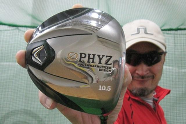 マーク金井が「ブリヂストン ツアーステージ PHYZ ドライバー」を試打検証