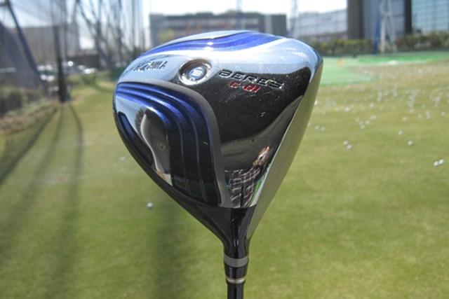 新製品レポート 本間ゴルフ ベレスC-01 ドライバー NO.1 パーシモンを彷彿させる美しいフォルム「本間ゴルフ BERES C-01 ドライバー」を試打レポート