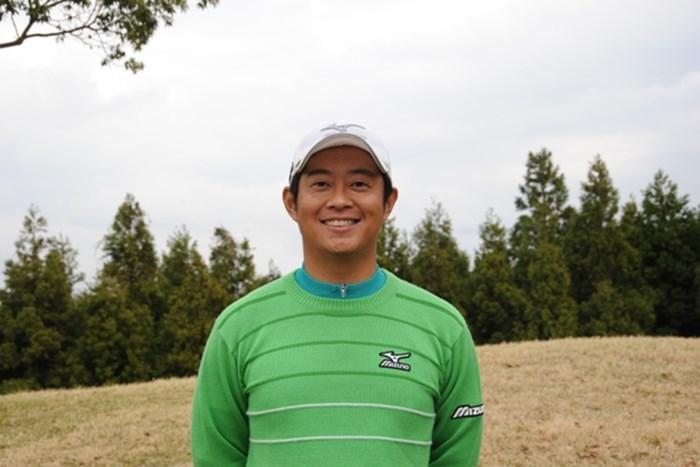 高橋と並び5アンダー首位タイにつけた竹本直哉 2011年 きみさらずGL・GMAチャレンジトーナメント 初日 竹本直哉