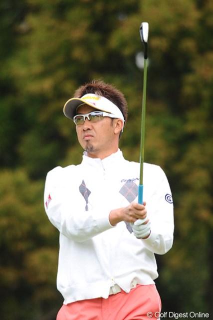 2011年 つるやオープンゴルフトーナメント 2日目 星野英正 う~ん、ちょっとスコアが伸び悩んでモヤモヤしたラウンドやったかなァ・・・