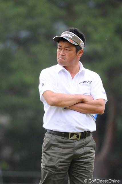 2011年 つるやオープンゴルフトーナメント 2日目 横田真一 どや!大会ホストやで!4アンダーで立派にホスト役を務めたで~!