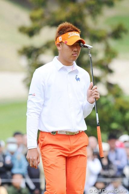 2011年 つるやオープンゴルフトーナメント 2日目 ドンファン 徴兵明けで、まだまだゲーム勘が戻ってないのに遼君とのペアリングはきついわなァ・・・。予落