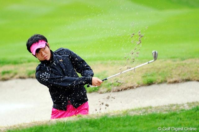 2011年 つるやオープンゴルフトーナメント 3日目 浅地洋佑 よ~耐えたと思うワ。技術もさることながら、ハートがごっつう強いんちゃうかなァ。