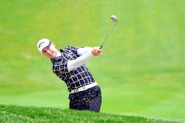 2011年 つるやオープンゴルフトーナメント 3日目 B.ジョーンズ ハーイBJデ~ス。前半ゼッコーチョーダッタデスケド、、再開後連続ダボで撃沈したデ~ス!