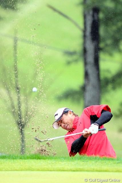 2011年 つるやオープンゴルフトーナメント 3日目 谷口拓也 1イーグル、1バーディで6個のボギー・・・。けっこう暴れてしまいました。