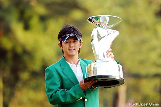 2011年 つるやオープンゴルフトーナメント 最終日 近藤共弘 2位に4打差をつける圧勝で近藤共弘がツアー通算5勝目!