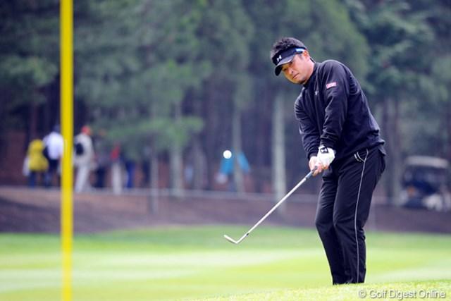 2011年 つるやオープンゴルフトーナメント 最終日 増田伸洋 増田伸洋が最終日に猛チャージ!今季の活躍を予感させる戦いぶりを見せている