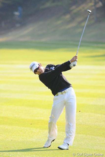 2011年 つるやオープンゴルフトーナメント 最終日 キム・キョンテ 終わってみれば12アンダーの7位T。昨年の賞金王は今年も強いでっせ~!どやさ~!