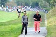 2011年 つるやオープンゴルフトーナメント 最終日 矢野東、小田孔明
