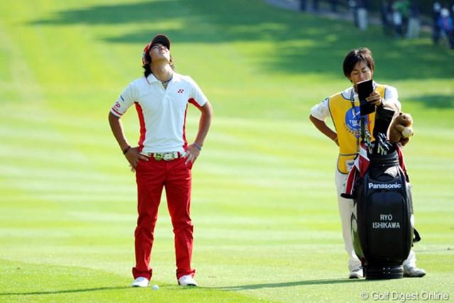2011年 つるやオープンゴルフトーナメント 最終日 石川遼 やっぱりお疲れやたんやないの?マスターズ以降強行スケジュールやもん。ワタシら中年には無理っすワ・・・。15位t