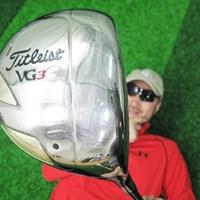 マーク金井が「タイトリスト VG3Cドライバー」を試打検証 マーク試打 タイトリスト VG3Cドライバー NO.1