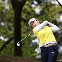 16番ではイーグル、4アンダー4位タイ 2011年 サイバーエージェントレディスゴルフトーナメント 初日 イム・ジナ