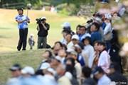 2011年 中日クラウンズ 2日目 片山晋呉 18番セカンド