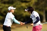 2011年 サイバーエージェントレディスゴルフトーナメント 2日目 馬場ゆかり&茂木宏美