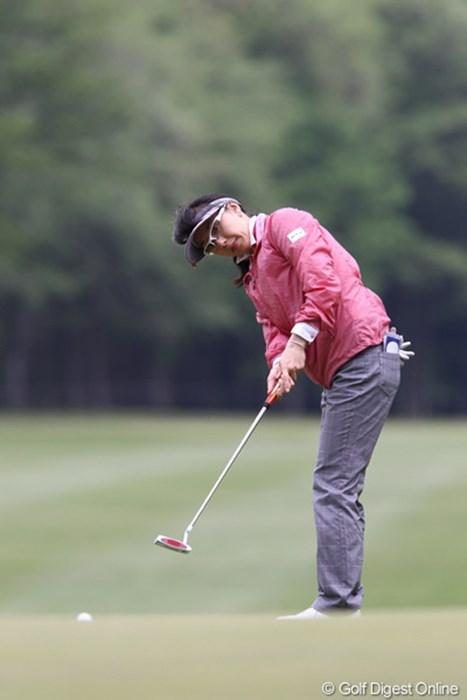 予選通過がなんと約2年ぶりだそうです 2011年 サイバーエージェントレディスゴルフトーナメント 最終日 東尾理子①