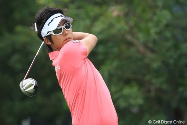 2011年 日本プロゴルフ選手権大会 日清カップヌードル杯 2日目 ジェイ・チョイ 韓国系米国人のジェイ・チョイ。ツアー初勝利を狙う