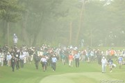 2011年 日本プロゴルフ選手権大会 日清カップヌードル杯 2日目 花粉と黄砂