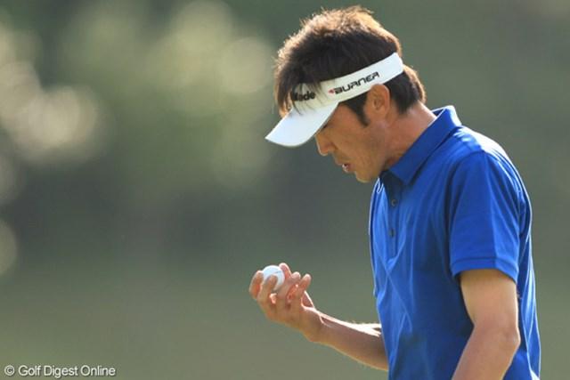 河井博大はこれまで悩み続けていたグリーン上での勝負を制し、トップタイで最終日へ!