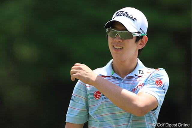 韓国の石川遼ことノ・スンヨル。最初は優勝のにおいがしたが少し難しいだろう。