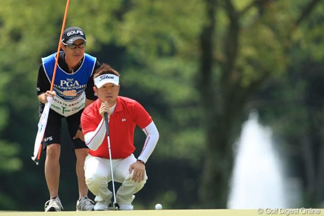 2011年 日本プロゴルフ選手権大会 日清カップヌードル杯 最終日 松村道央 1つのホールのトラブルから松村道央はメジャー初優勝を逃す
