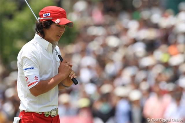 石川遼は3日目までに伸ばせず、優勝争いに加わることができなかった
