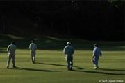 2011年 日本プロゴルフ選手権大会 日清カップヌードル杯 最終日 ボランティアさん