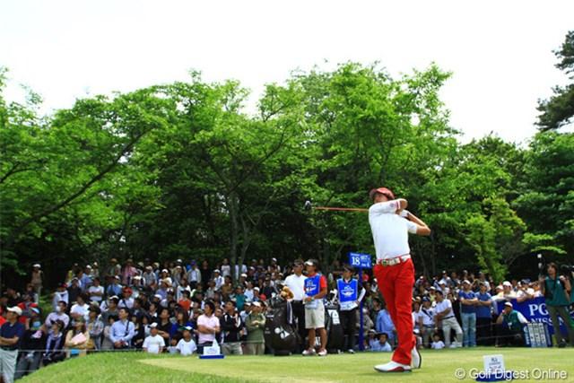 2011年 日本プロゴルフ選手権大会 日清カップヌードル杯 最終日 石川遼 トータル+2で大会終了。今週は4連続ボギーが印象に残りました。今年は静かなスタートです。