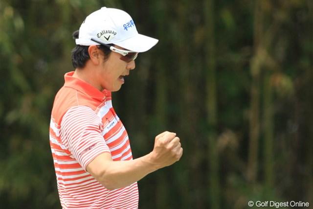 2011年 日本プロゴルフ選手権大会 日清カップヌードル杯 最終日 ベ・サンムン 今大会を盛り上げてくれた一人