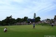 2011年 日本プロゴルフ選手権大会 日清カップヌードル杯 最終日 18番グリーン