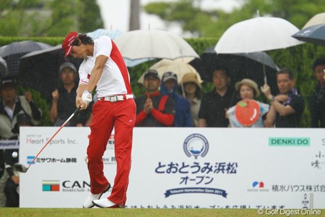 2011年 とおとうみ浜松オープン 最終日 石川遼 雨の中でもスコアを伸ばしギャラリーを魅了した石川遼