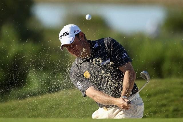 リー・ウェストウッドもビッグタイトル獲得に挑む!(写真は2011年「ボルボワールドマッチプレー選手権」3日目)(Warren Little/GETTY IMAGES)